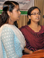 Prayer by Gautami and Gayathri