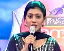 Gayathri Govind_Mampazham Program Presenter